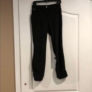 Zenergy by Chico's black ankle pants